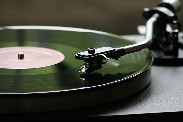 1970s turntable