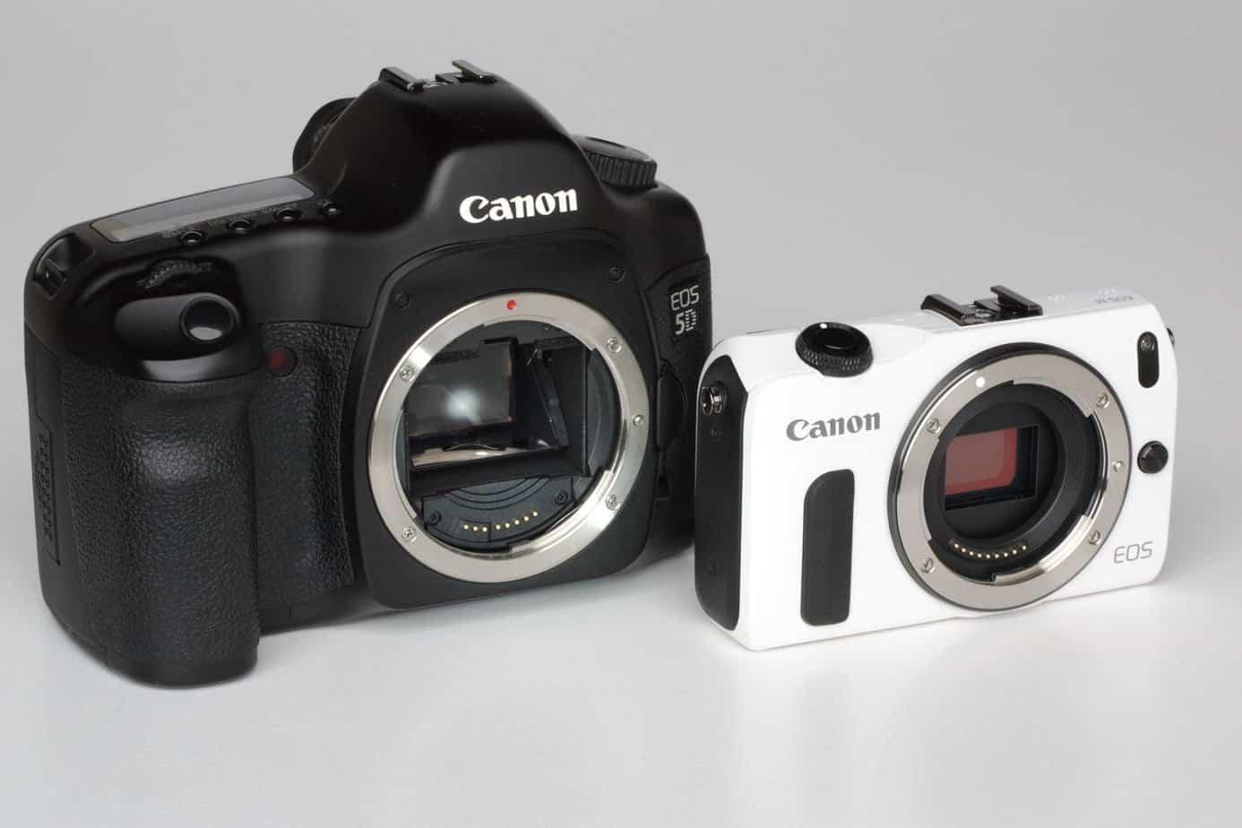 Traditional vs Digital Cameras
