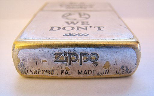 Original Zippo Vintage Lighter