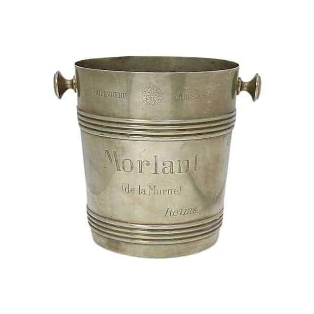 rare 1940s christofle morlant bistro champagne bucket 6480