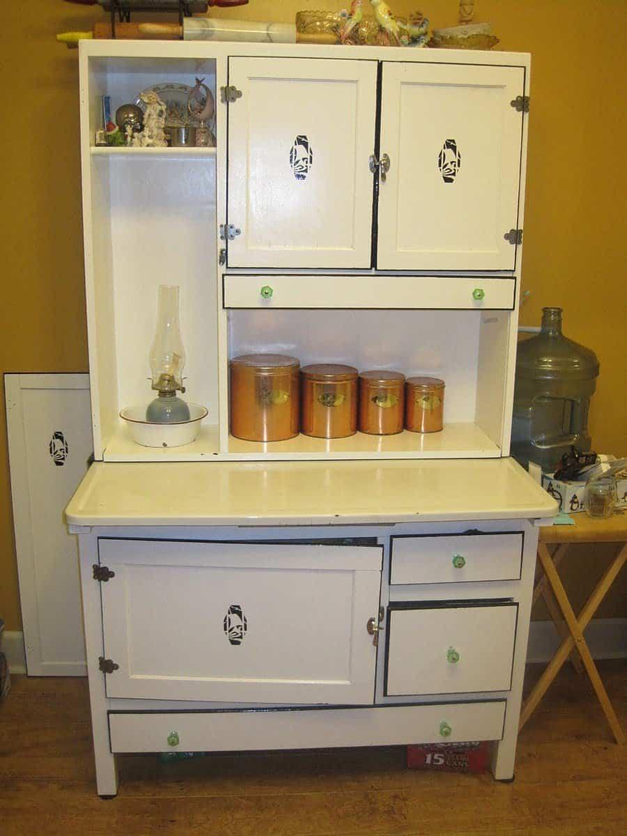 900px Hoosier Cabinet