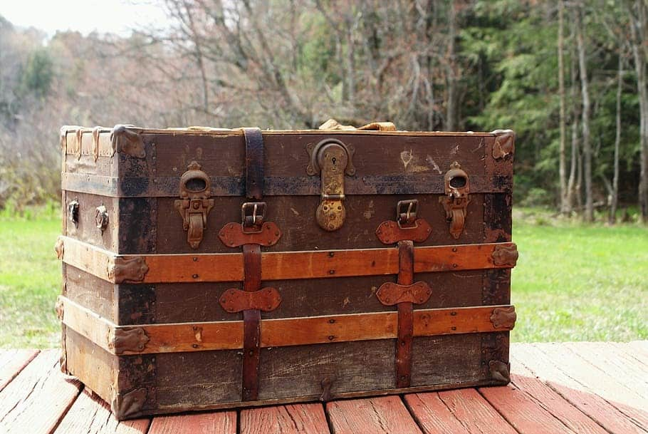 steamer trunk trunk luggage antique