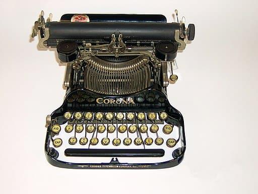 Corona Portable Typewriter