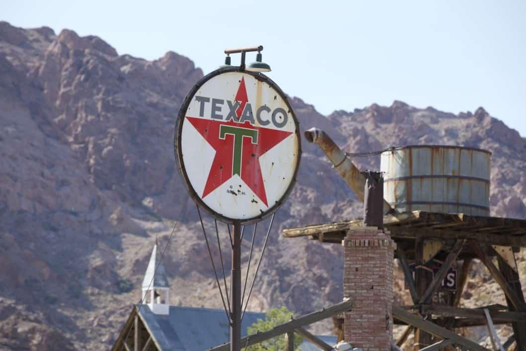 Vintage Texaco Signs