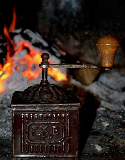 Cast Iron Antique Coffee Grinder