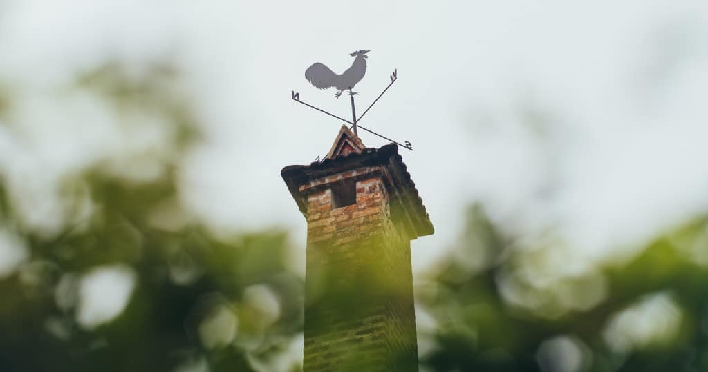 Rooster Weathervane History
