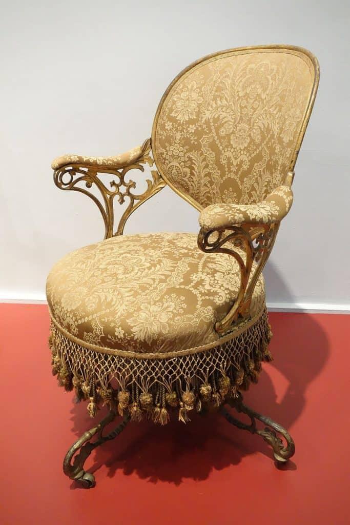 Centripetal Spring Armchair