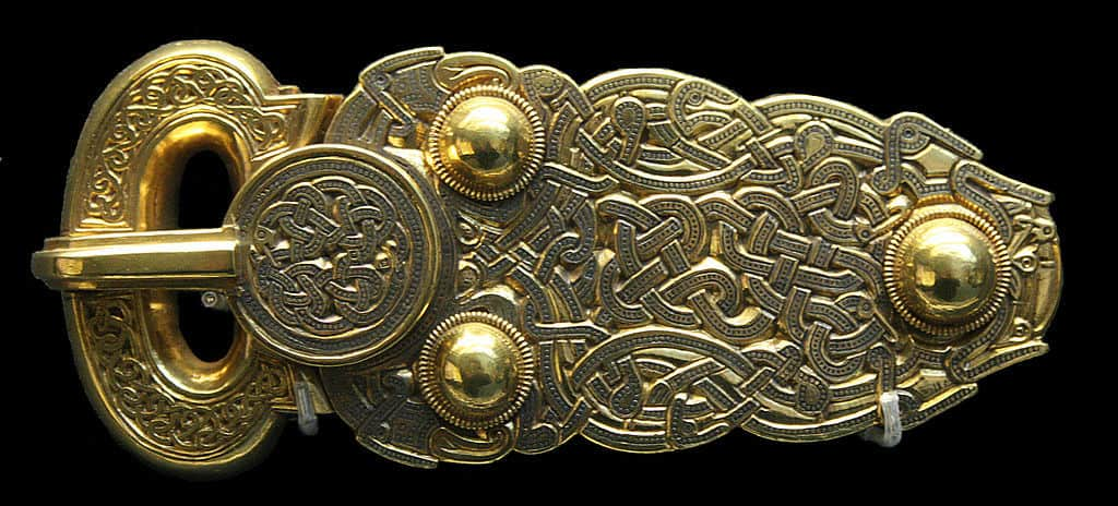 Anglo Saxon Belt Buckle