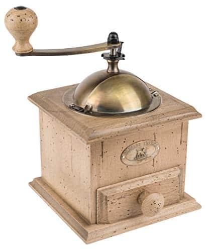 "Peugeot Antique Coffee Mill, 8-1/4"" x 5"" x 5"""